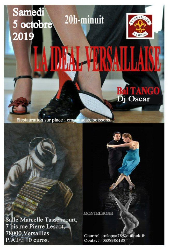 Bal tango argentin, cours de tango