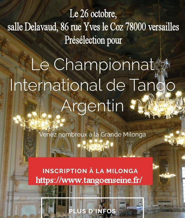 Championnat international de tango Argentin