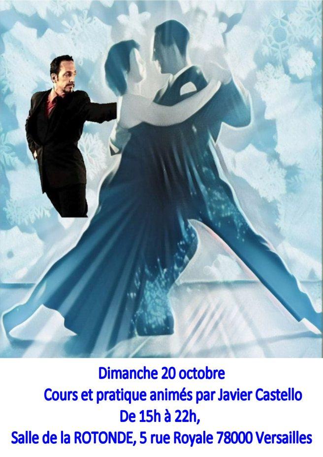 cours et pratique tango du 20 octobre