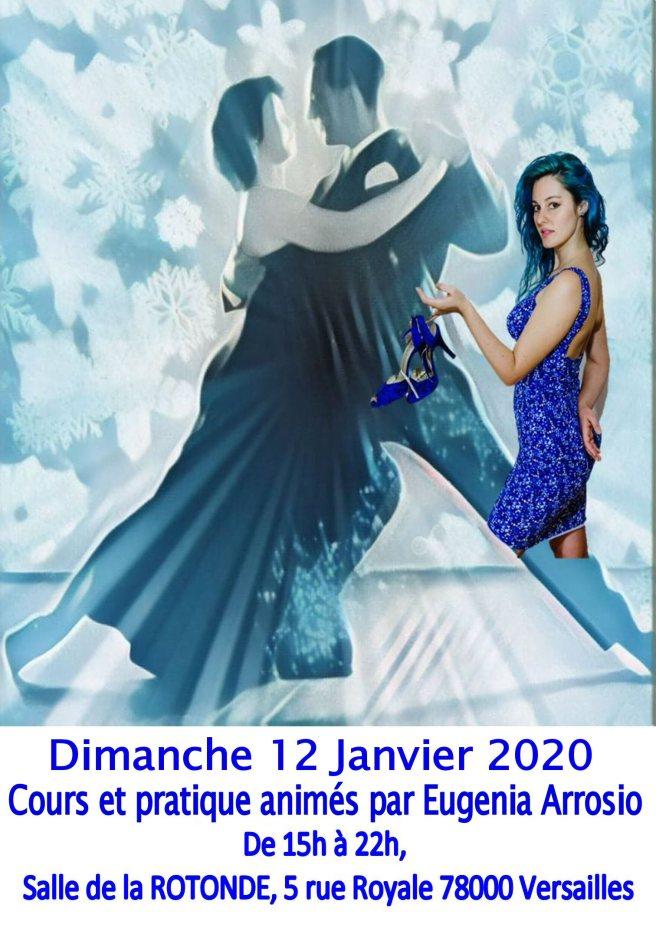 Pratique tango avec EUGENIA ARROSIO