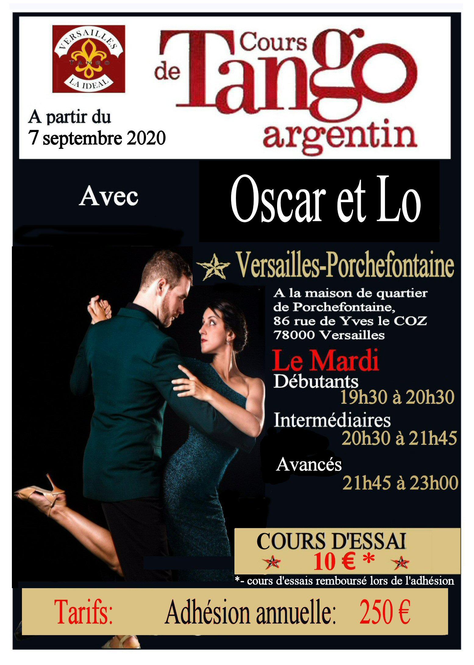 affiche A4 Oscar et Lo à Versailles